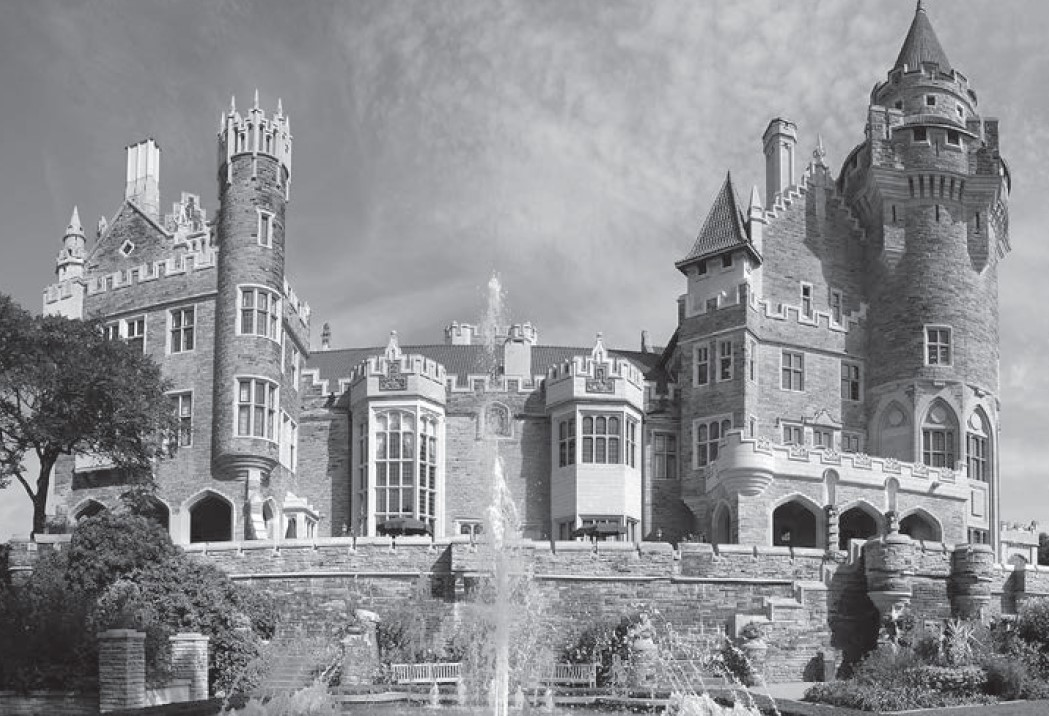 The audio tours at Casa Loma offer guided direction through the grounds, and comprehensive information on the features and exhibits (Photo - Courtesy of Casa Loma)
