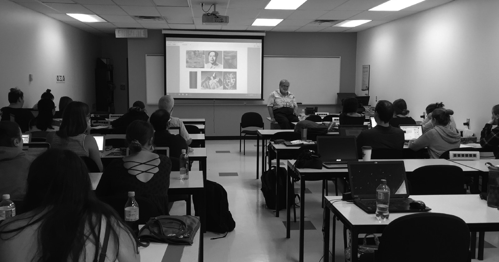 OHS Volunteer John Rae delivers an annual guest lecture to the students of Algonquin College's Museum Studies Program. John's expertise on accessibility practices in the public sphere, specifically in the heritage sector, make his lectures a great benefit to Ontario's museum studies students.