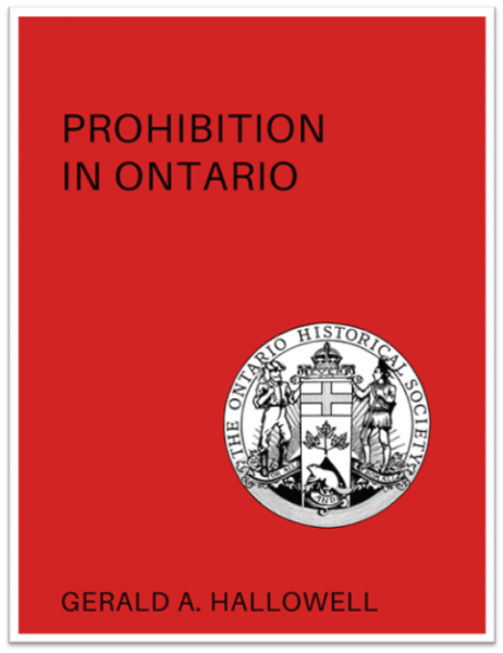 Prohibition in Ontario (Cover)