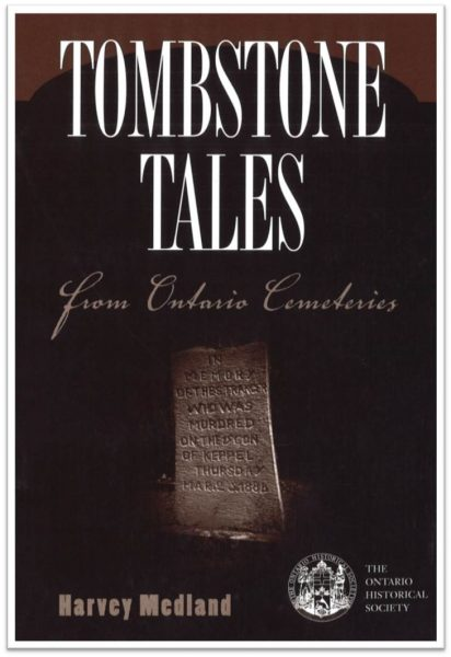 Tombstone Tales from Ontario's Cemeteries (Cover)