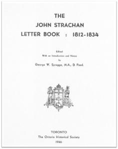 The John Strachan Letter Book (Cover)