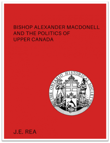 Bishop Alexander Macdonell Cover