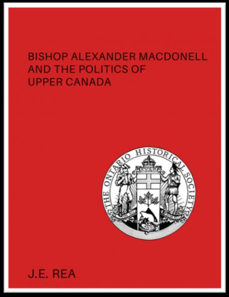 Bishop Alexander Macdonell (Cover)