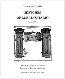Thoreau MacDonald's Sketches of Rural Ontario